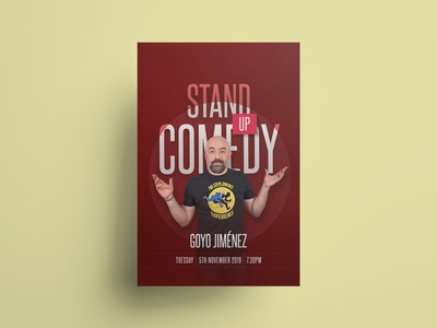 Poster Design - Stand-Up Comedy