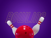 Bowling Poster - Sports & Fitness Month