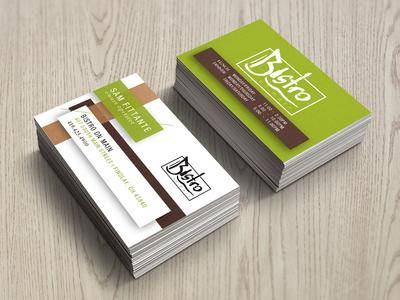 Restaurant Business Card by Jerod Guillen - Dribbble