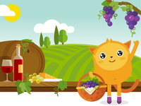 Time To Harvest Grapes