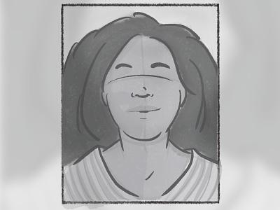 Proto Persona diversity inclusion representation woman profile user sketch drawing illustration persona