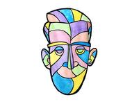 Self Portrait Illustration, Day 16
