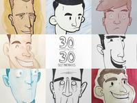 30 in 30: Self Portraits