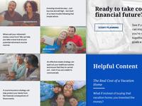 Wealth Management Company Website v2