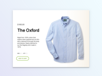 Daily UI Challenge 12: Product