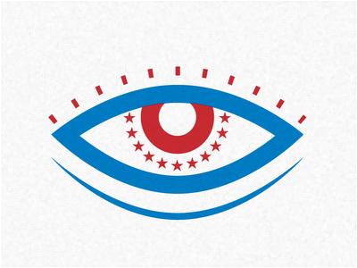 Red Eye july 4 4th of july sleepy sleep eye firework usa stars sleepless fireworks america