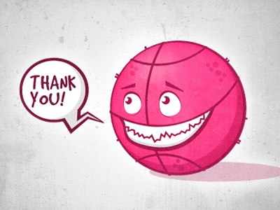 Dribbble thank you