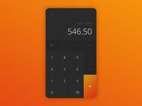 Calculator - Daily UI #004