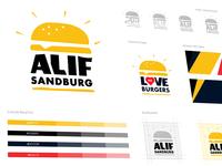 Alif Sandburg Branding