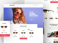Goggles - Free Ecommerce Template