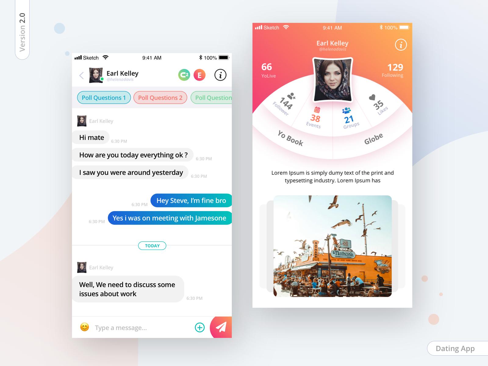 Dating app profile finder