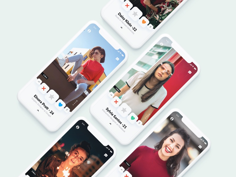 Dating Card Concept aamir mansuri swipe sketch design interaction ux ui iphonex invite friends friend finder dating app dating camera bae app