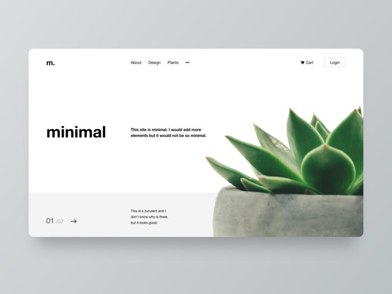 Minimal Webdesign ui ux landing page concept ui design website homepage webdesign minimalism minimal