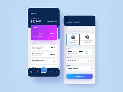Digital Wallet wallet ui wallet app credit card wallet