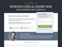 Landing Page Webinar (Free sketch file)