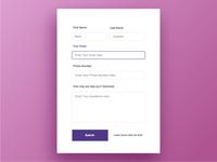 Form UI