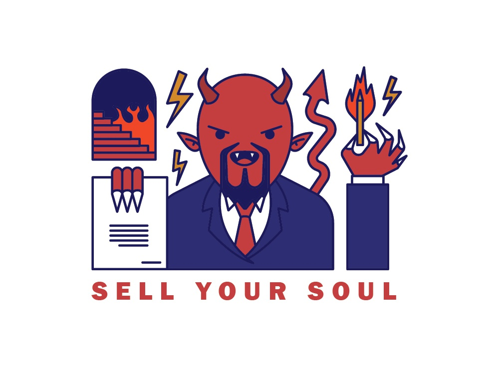Sell Your Soul by Tidar Maulana Wirahadi on Dribbble