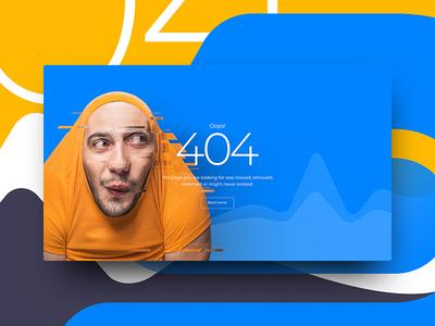 Error 404 Design
