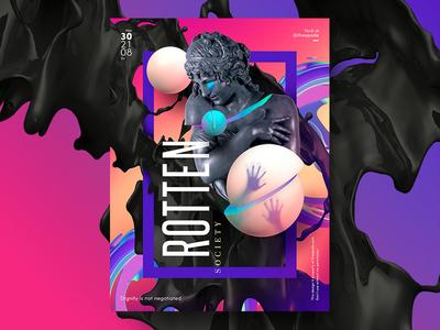 Poster Design - Rotten