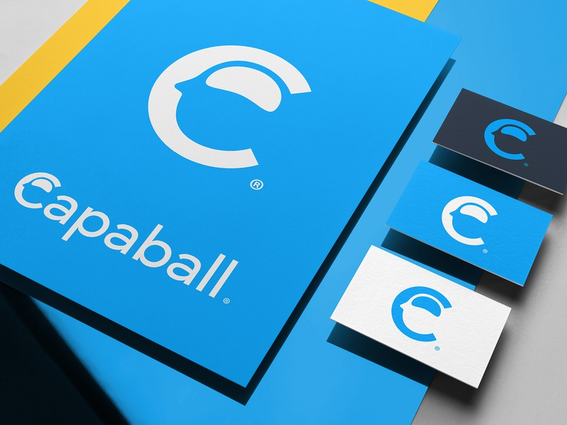 Capaball Isotipo theepode logotype logotipo logo identity design capaball c branding anagram