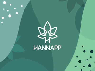 Hannapp Logo logotype montreal branding logo graphic design typography lettering illustration design