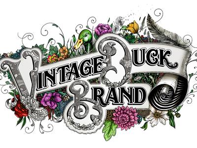 Vintage Duck Brand Lettering