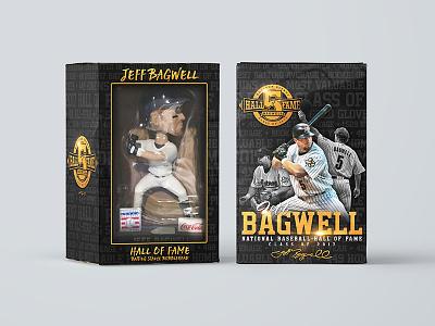 Jeff Bagwell HOF Bobblehead Box hall of fame print packaging bobblehead sports mlb baseball hof bagwell astros houston