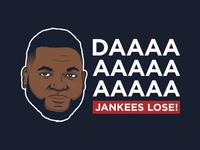 David Ortiz Jankees Lose