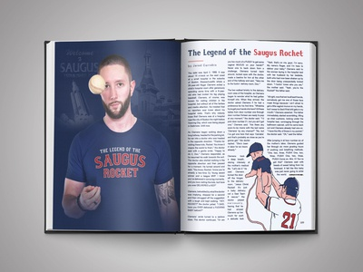 'Legend of the Saugus Rocket' - Barstool Coffee Table Book