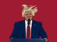 '2nd Term Trump?' - Barstool Coffee Table Book