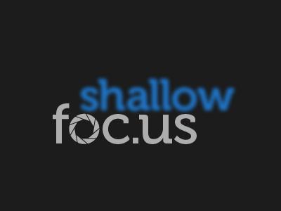 Shallow Focus logo web blog