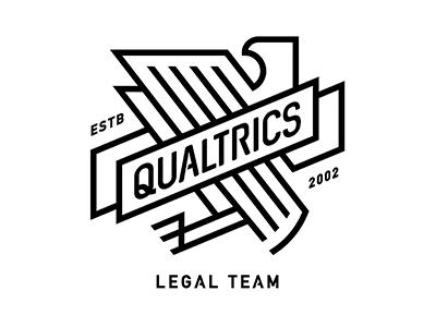 Qualtrics Legal Team bird law wing eagle legal qualtrics