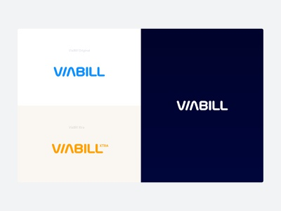 ViaBill    Brand Exploration 01 clean minimal style guide style branding concept logo market redesign stationary brand guidelines identity branding visual identity rebrand mark logotye brand identity guide colors branding brand