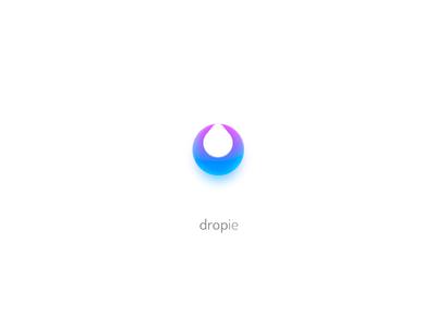Dropie Logo design symbol trademark brand branding drop water simple concept app icon icon logo