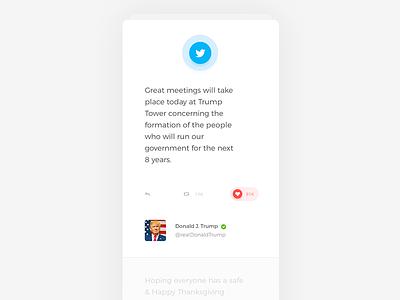 Tweet Reader Lite   App retweet fav social social media minimal simple lite ios application app twitter tweet
