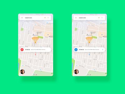 Parking App transportation gps car tracking nav location navigation map car parking application ios app