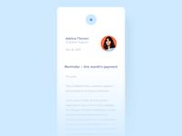 Viabill - Read Messages (Mobile version)