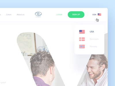 Select Country ui ux choose mouse hover select list drop down language country