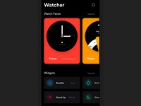 Watcher | Watch Face App