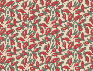 Calla Lilly Floral Pattern