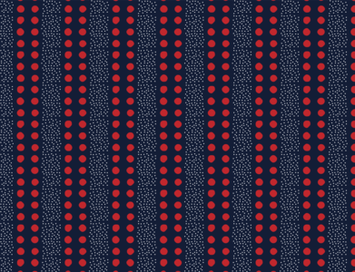 Dots and stripes pattern