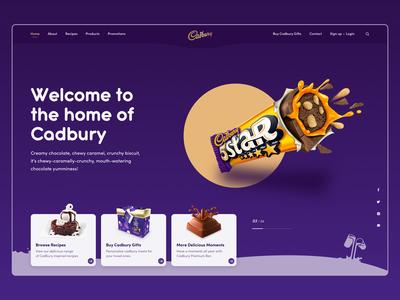 Cadbury Homepage