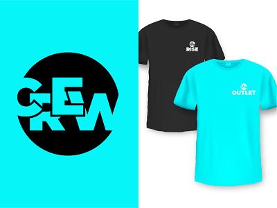 CREW Youth Ministry Branding design churches church of christ vector church logo logos church design church logo branding