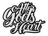 After God's Heart - Sticker & Lettering