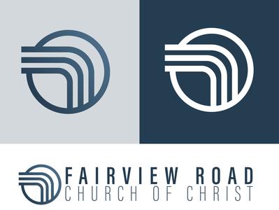 Fairview Road Church of Christ - Gadsden, AL churches vector church logo design logos logo branding church of christ church design church