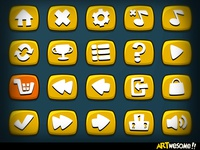 Freebie - Artwesome Mobile Game Icons