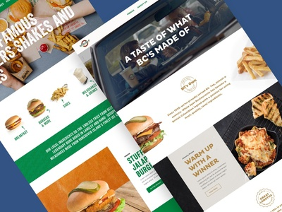 White Spot & Triple O's branding food and drink homepage resturant food product ui design ux design design agency ui  ux design iamota