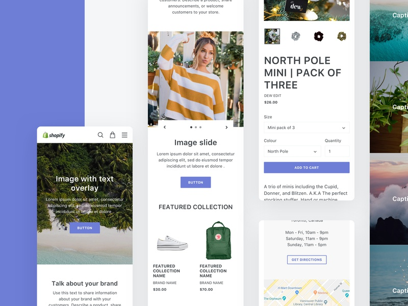 Debut Shopify Sketch Template Kit product ecommerce agency ui  ux design ui kit sketch kit template shopify plus shopify