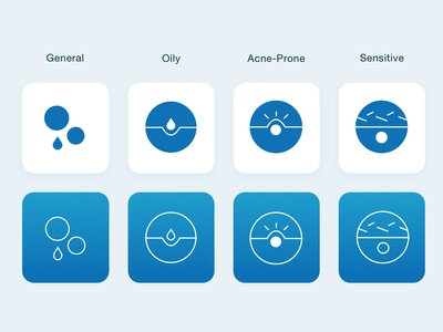 Health & Wellness Iconography iamota skin icons icon artwork information agency wellness health ui design design iconography icon