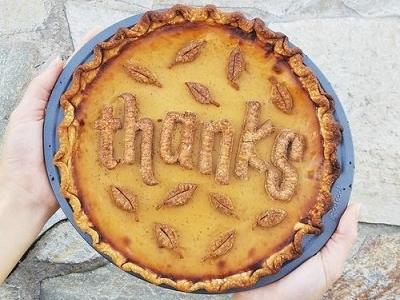 Pie Lettering